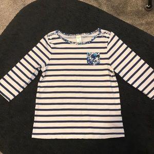 Oshkosh 3/4 length shirt